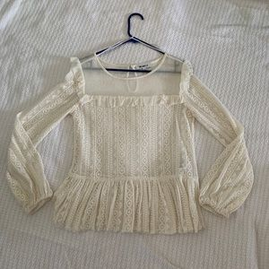 WilliamRast Romantic long sleeve blouse
